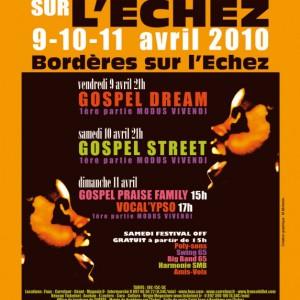 Festival GOSPEL Borderes sur l'echez